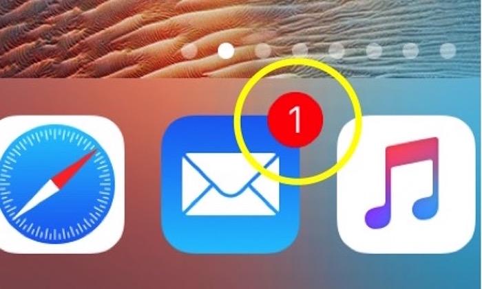 アプリ アイコン の バッジ と は