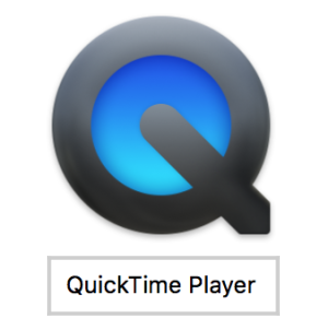 Mac・QuickTime Player(アイコン)画面