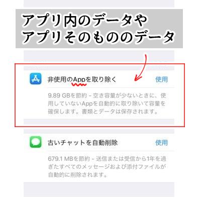4407da59fe iPhoneの容量を減らす方法・アプリデータ. iPhoneにインストールして ...