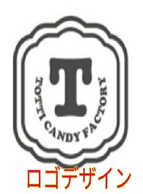 Totti Candy Factory」ロゴデザイン