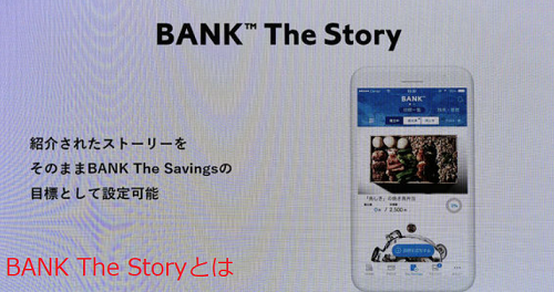 BANK The  Storyとは