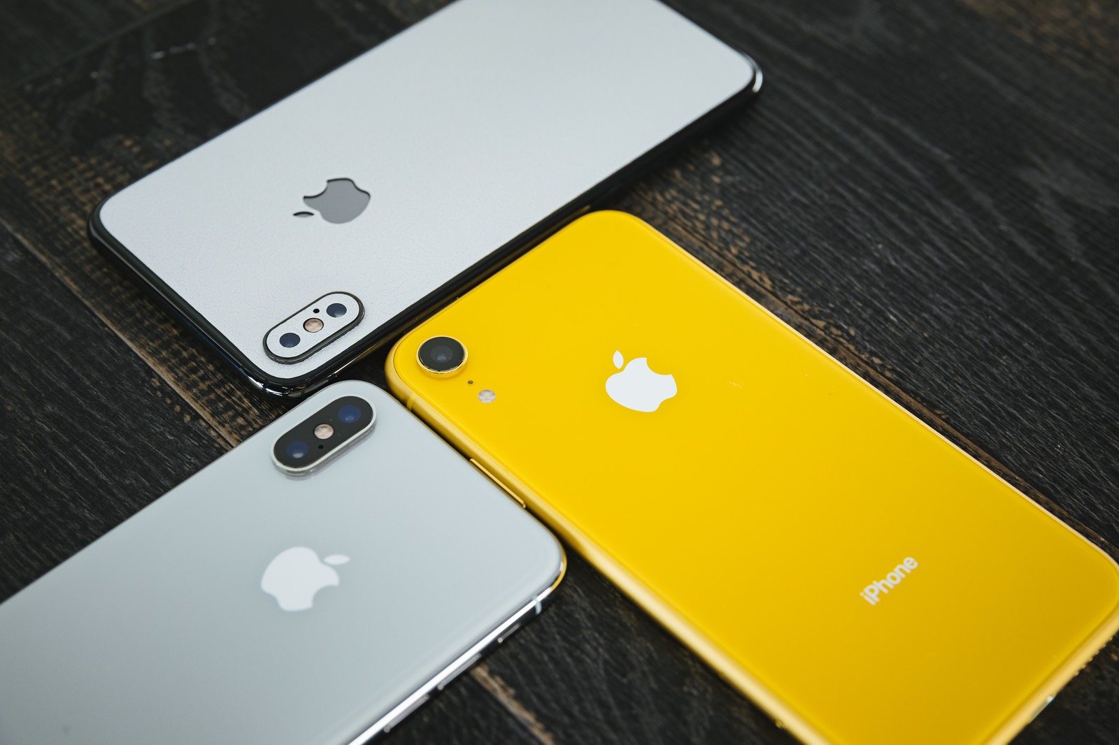 iPhone XとiPhone XR