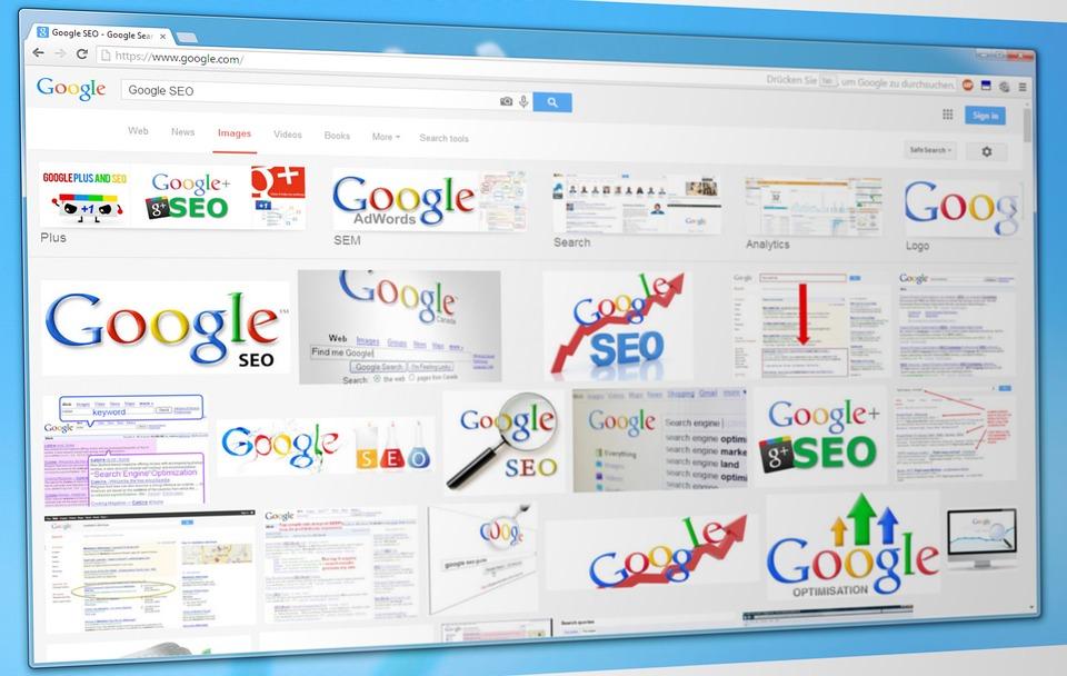 Google Chromeで検索するイメージ