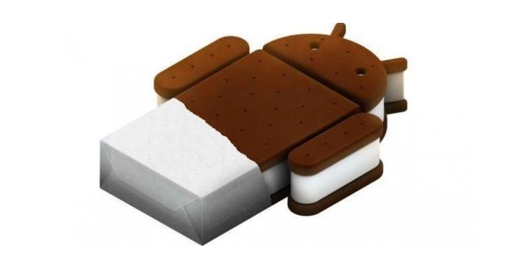 Androidバージョン4.0のice cream sandwich