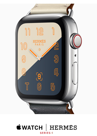 Apple Watch Hermèsの専用文字盤