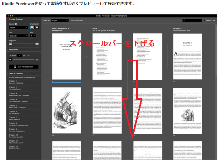Kindle previewer インストール2