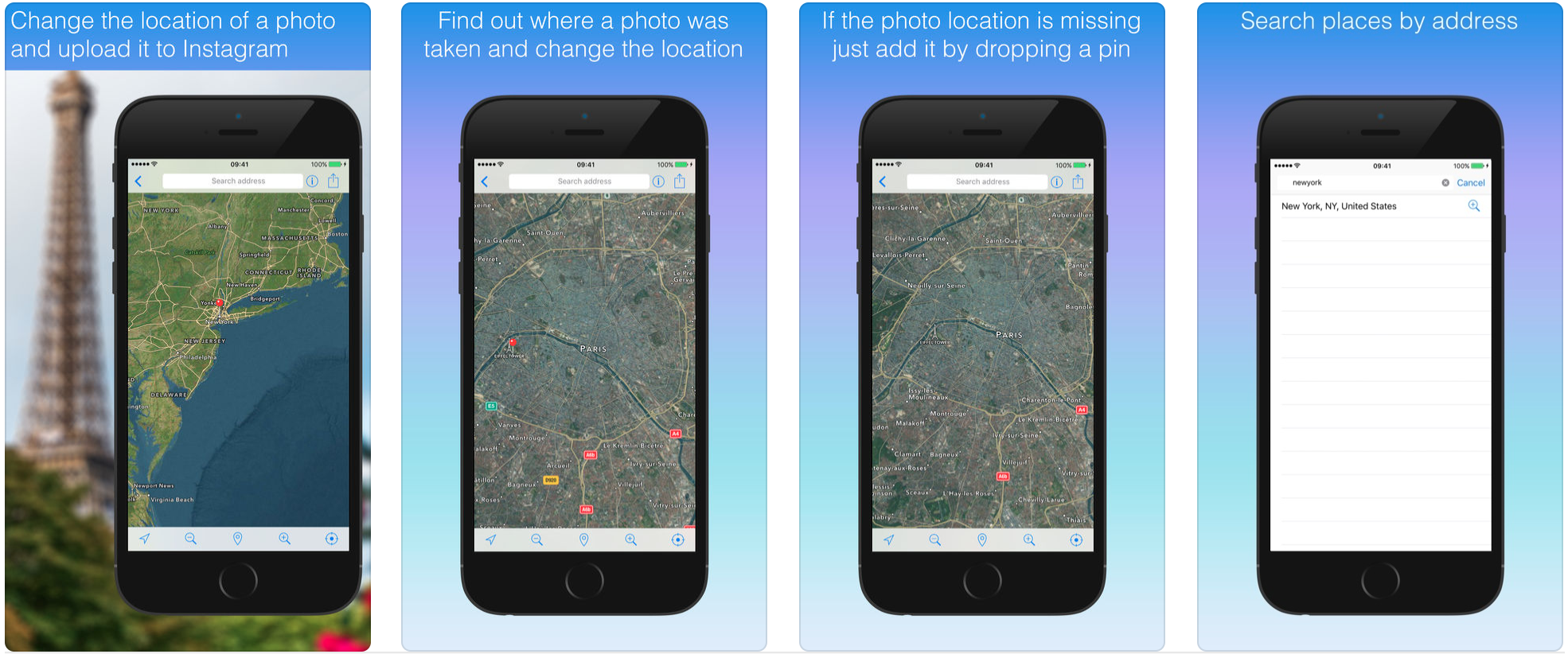 「Mappr - Latergram Location Editor for Instagram」2