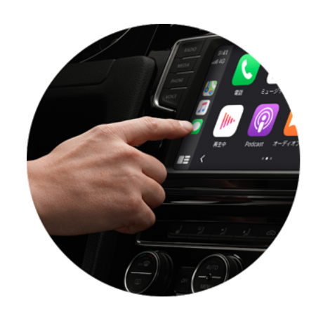 CarPlay DashboardをタッチでiPhone操作