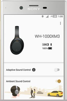 SONY Headphones Connectについて