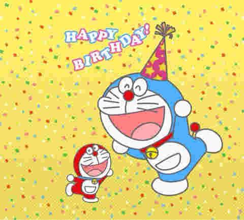 ドラえもんの誕生日が9月3日の理由とはその他の登場キャラはいつ