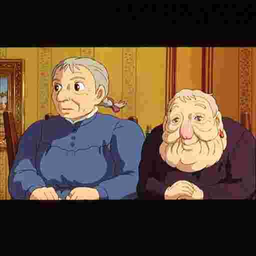 おばあちゃん 城 ハウル 動く の