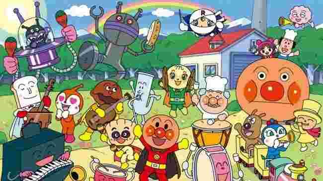 アンパンマンの登場人物や仲間のキャラクター一覧 性格や画像など