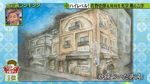 佐野史郎さんの水彩画