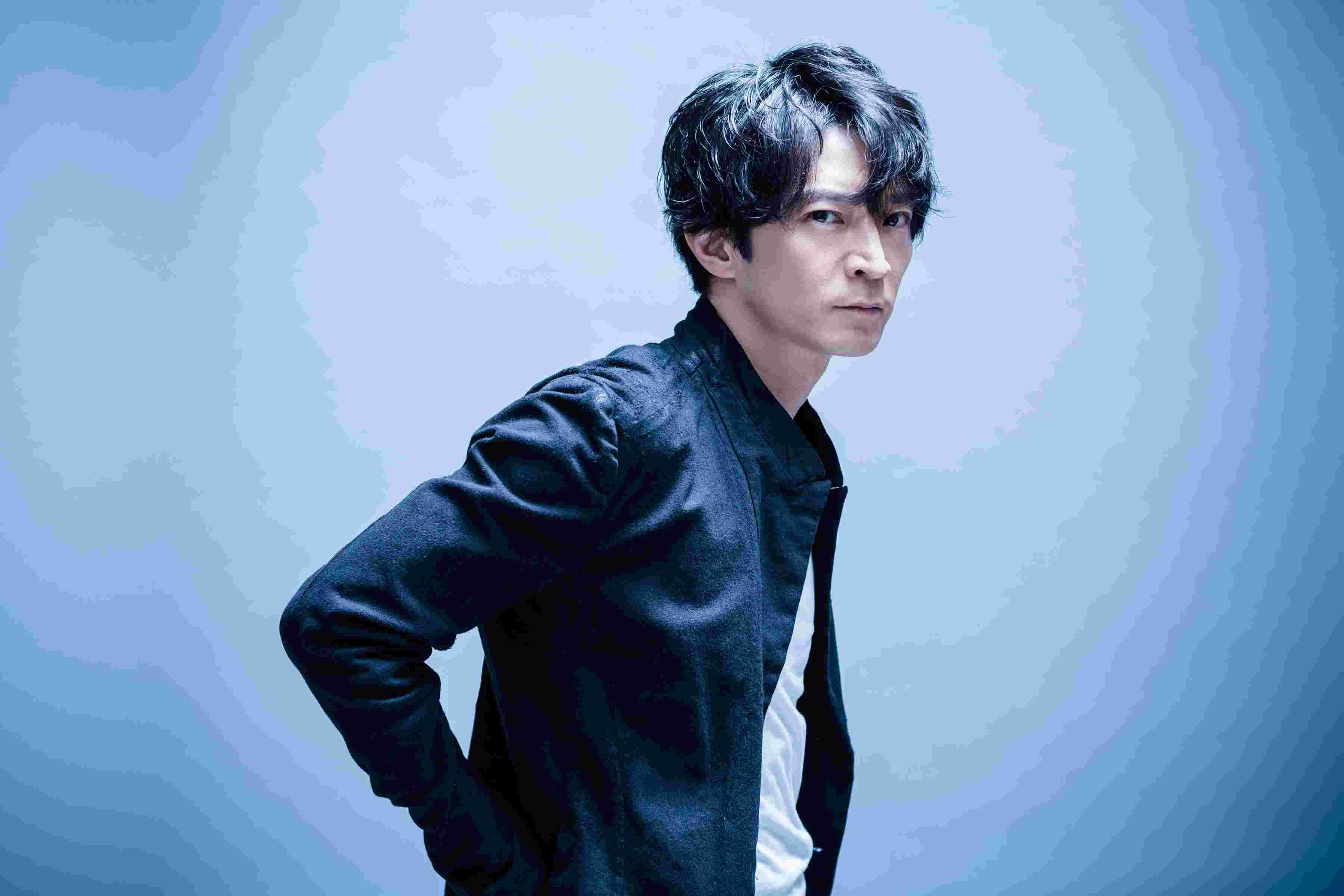 津田健次郎のイケメン画像