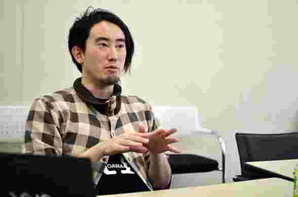 高橋祐馬さんの取材時の写真