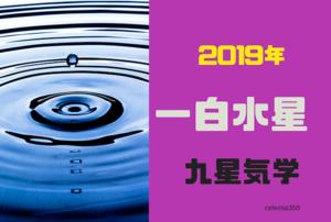 【九星気学】2019年の一白水星の運勢は?一白水星の 恋愛/仕事/お金