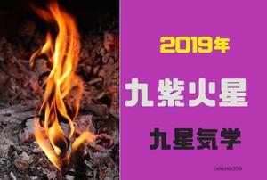 【九星気学】2019年の九紫火星の運勢は?九紫火星の 恋愛/仕事/お金