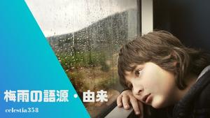 「梅雨」の語源・由来とは?梅雨の漢字の意味をご紹介!