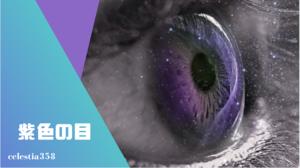 目の色が紫の人は1000万分の1の確率!その驚愕の美しさとは!?