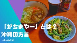 「がちまやー」とは?沖縄の方言の意味や使い方を知ろう