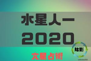 【六星占術】水星人マイナスの2020年の運勢