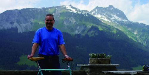 スイスのブルーノダルシー氏