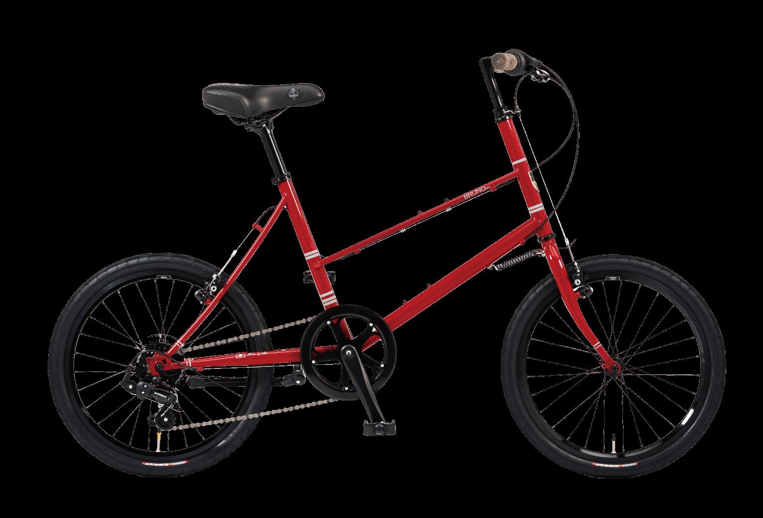 20インチのワインレッド自転車ミキスト