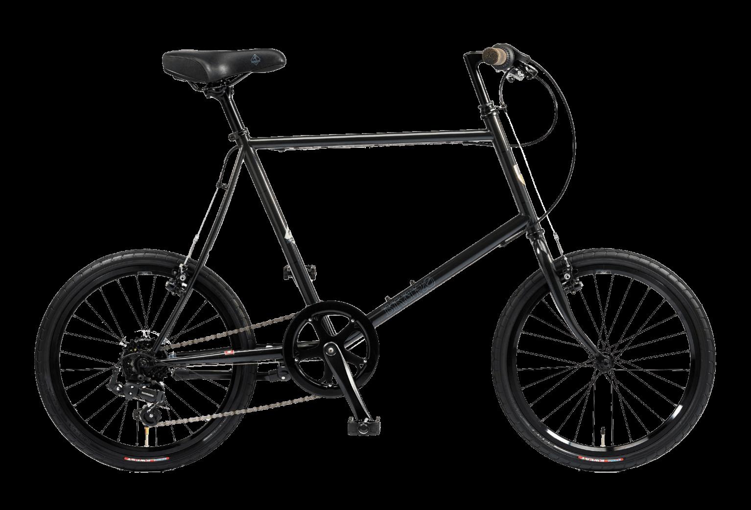 20インチの黒の自転車スキッパー