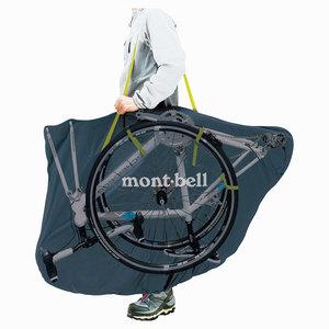 モンベルの輪行袋「コンパクトリンコウバッグ」の特長や使い方!