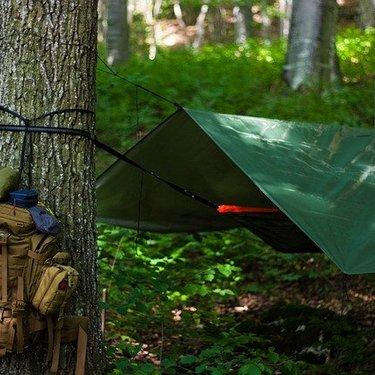 タープ泊で最低限必要な装備は何?自転車でのソロキャンプにもおすすめ?