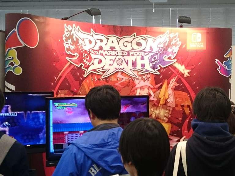 「Dragon Marked For Death」のブースではver.3.0から追加される新ジョブ「盗賊」と「巫女」が先行プレイできた