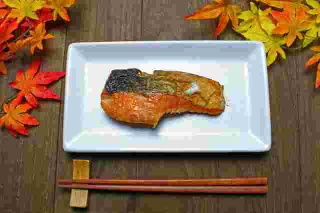 グリル 鮭 焼き 方