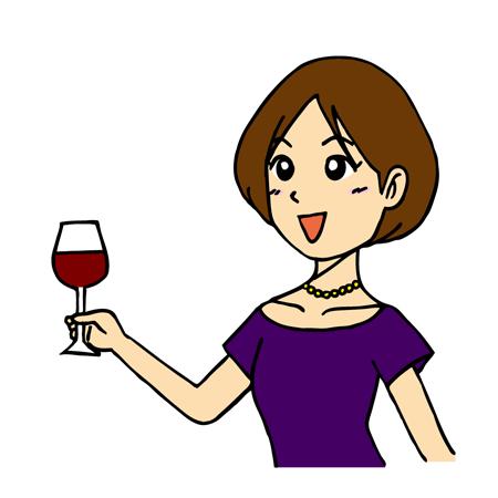 ワイングラスの正しい持ち方とは?男女のマナーの違いをイラスト付きで解説! | お食事ウェブマガジン「グルメノート」