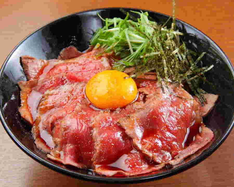 丼 タレ ローストビーフ