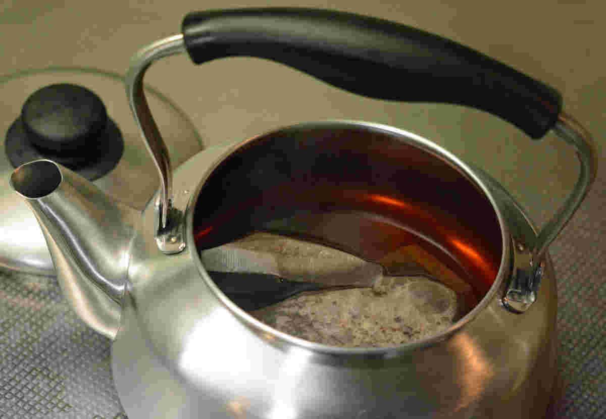 やかん 麦茶