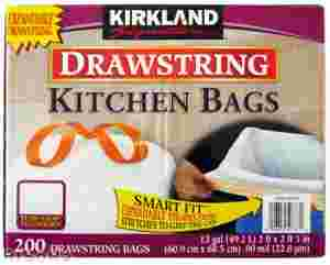 DRAWSTRING KITCHINBAGS
