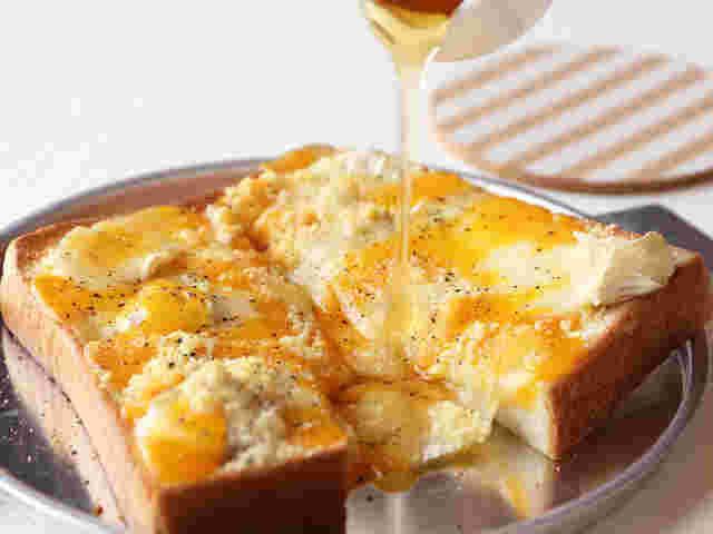 ハニー チーズ トースト