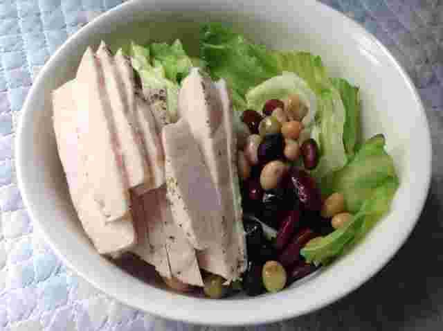 チキン 保存 方法 サラダ