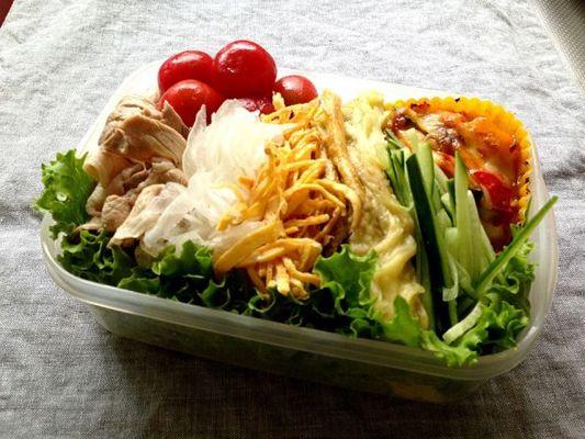 弁当 サラダ お