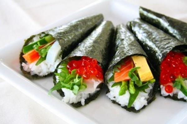 巻き 寿司 方 手 巻き