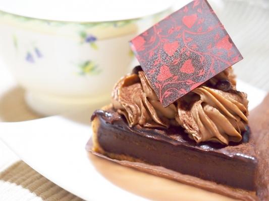 タルト 焼 かない チョコ