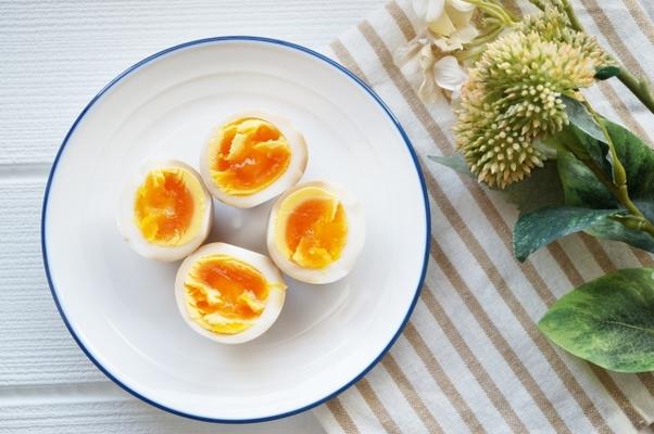 レンジ ゆで 卵 電子
