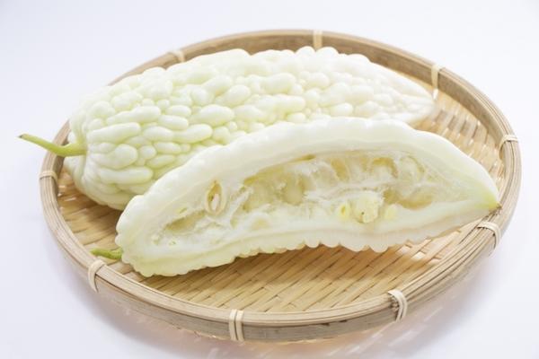 食べ 白 方 ゴーヤ