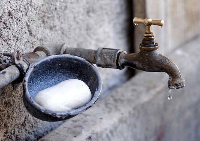 お風呂の水垢