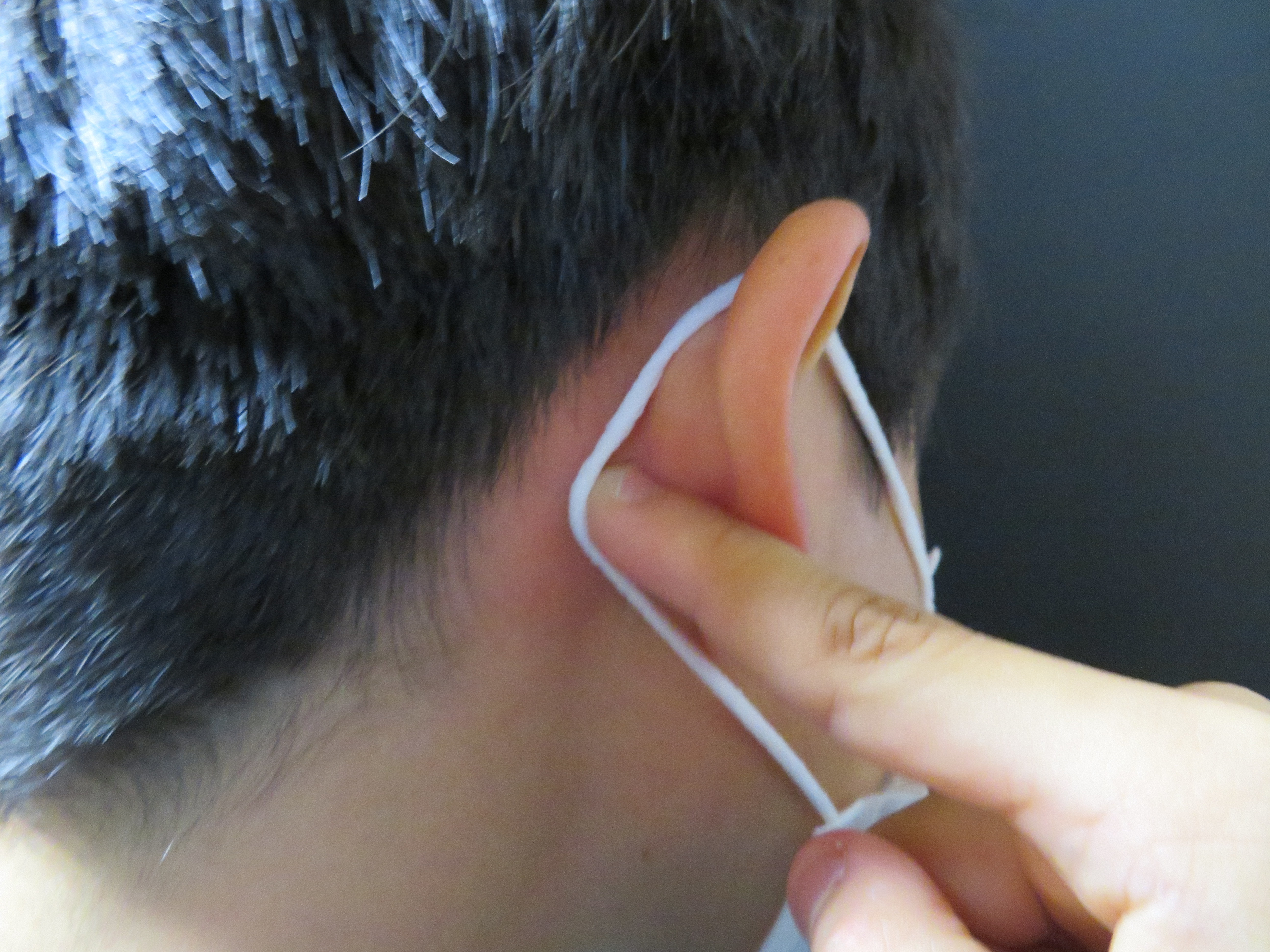 ならない 輪ゴム 痛く マスク 耳 が
