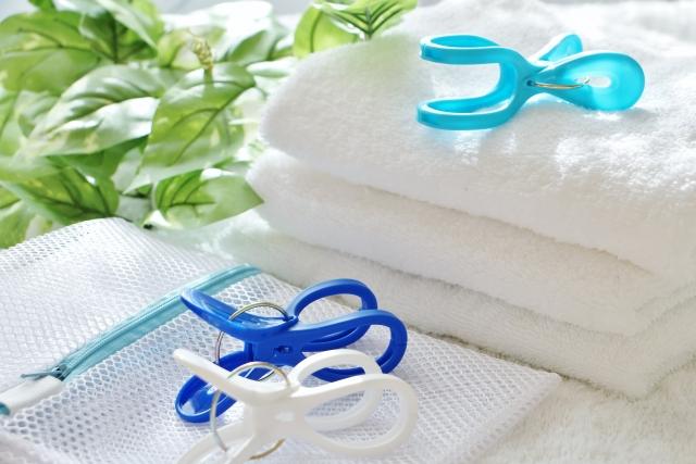 タオルと洗濯ネット