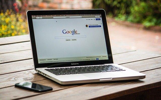パソコンの検索画面