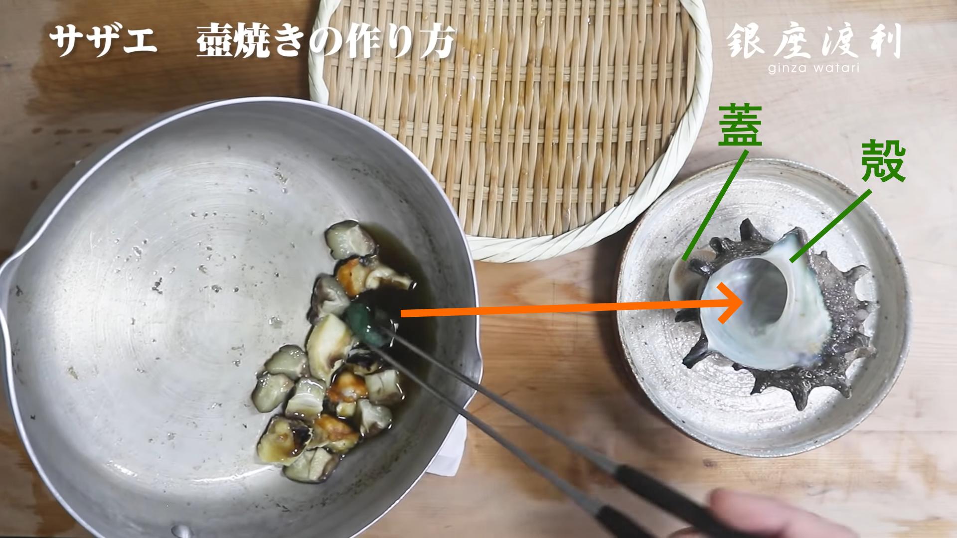 作り方 つぼ焼き サザエ の