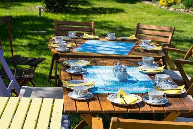 ガーデンテーブルの作り方・DIY方法!材料と具体的手順を公開!