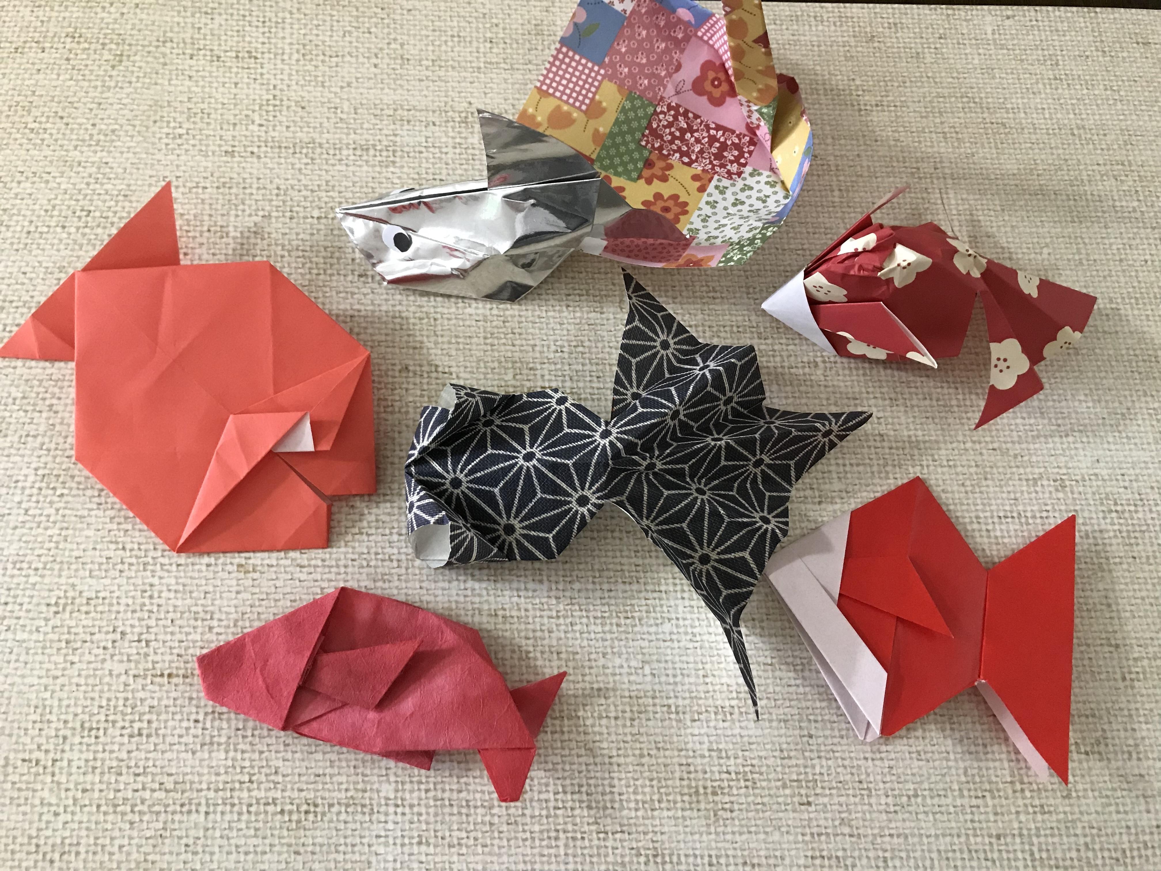 折り紙「金魚」の作り方!金魚でもタイプが違う6種の折り方を解説!